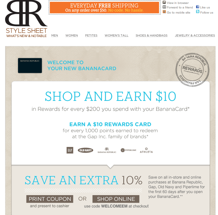 banana-republic-welcome-email-example