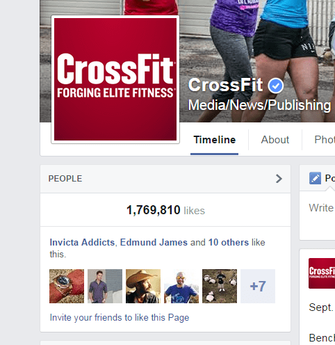 crossfit fb friends