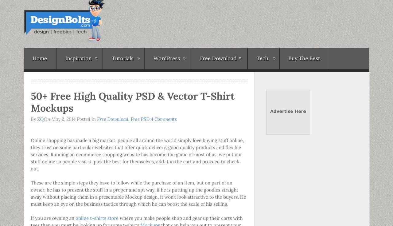 Design Bolts T-Shirt Mockup Templates Blog Post
