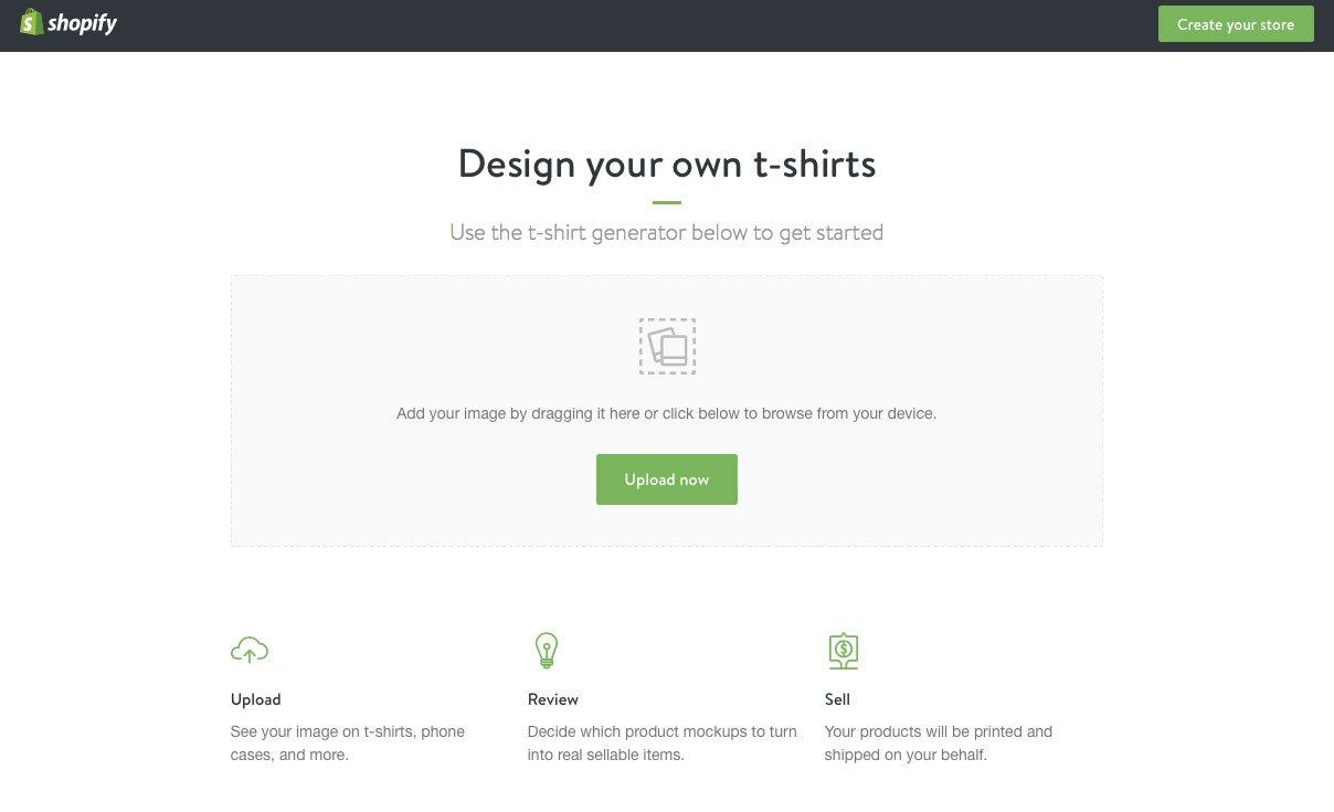 Shopify T-Shirt Mockup Generator