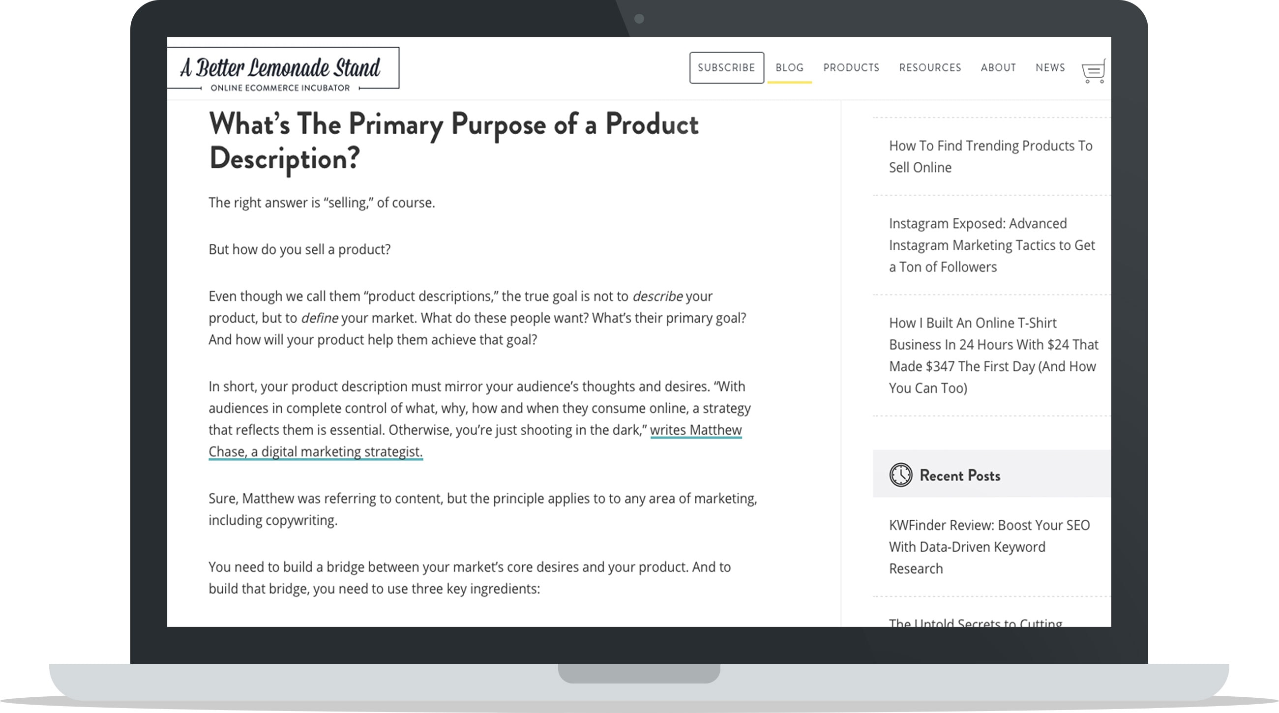How to Write Persuasive Product Description - The Primary Purpose