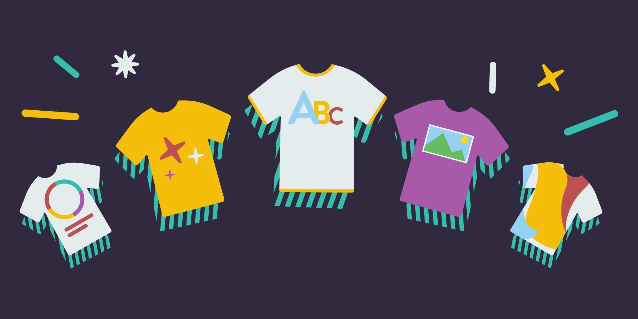 5 Types of T-Shirt Designs & Resources