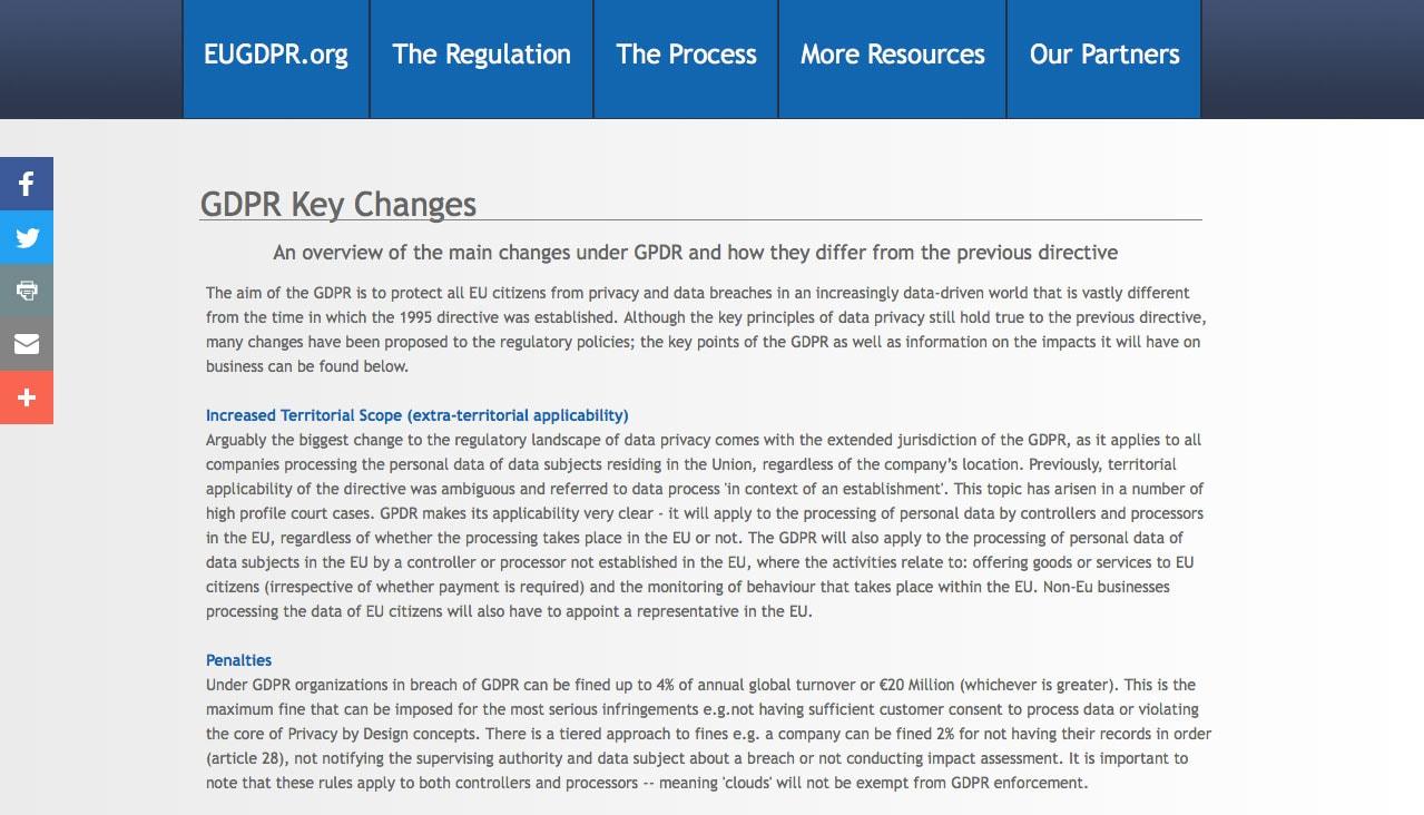 GDPR Legislation