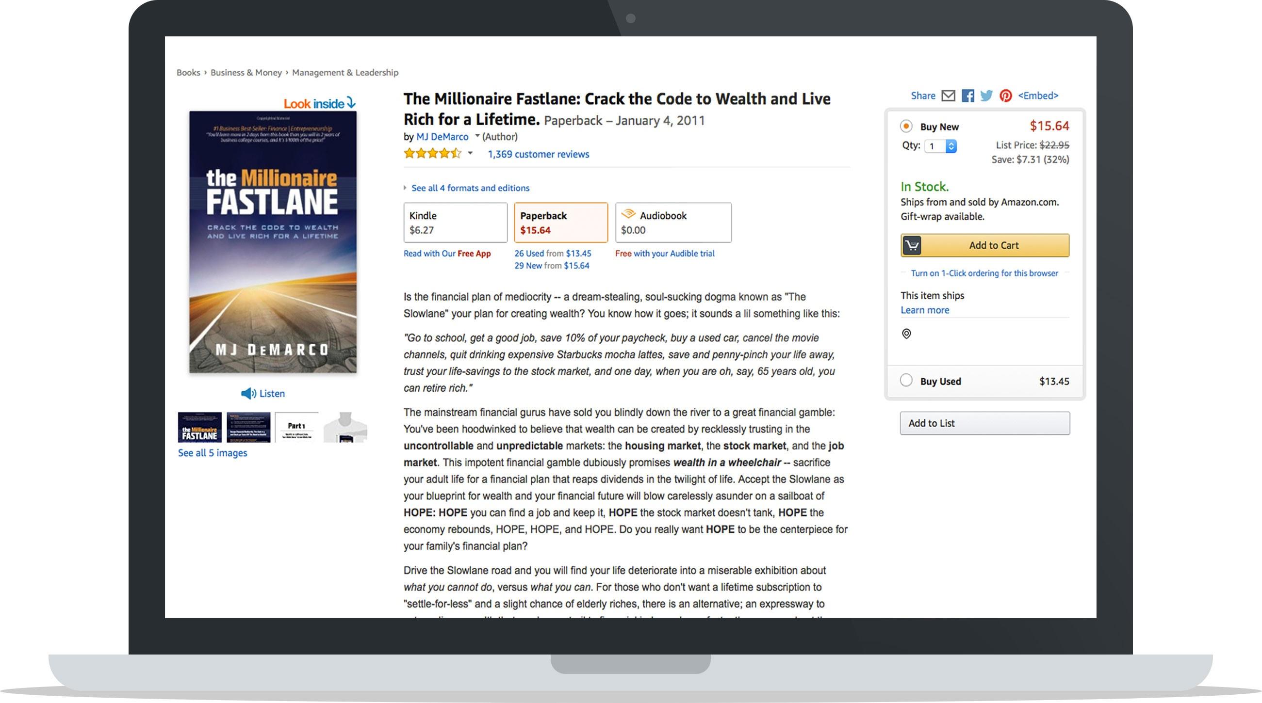 Millionaire Fastlane Ecommerce Business Book
