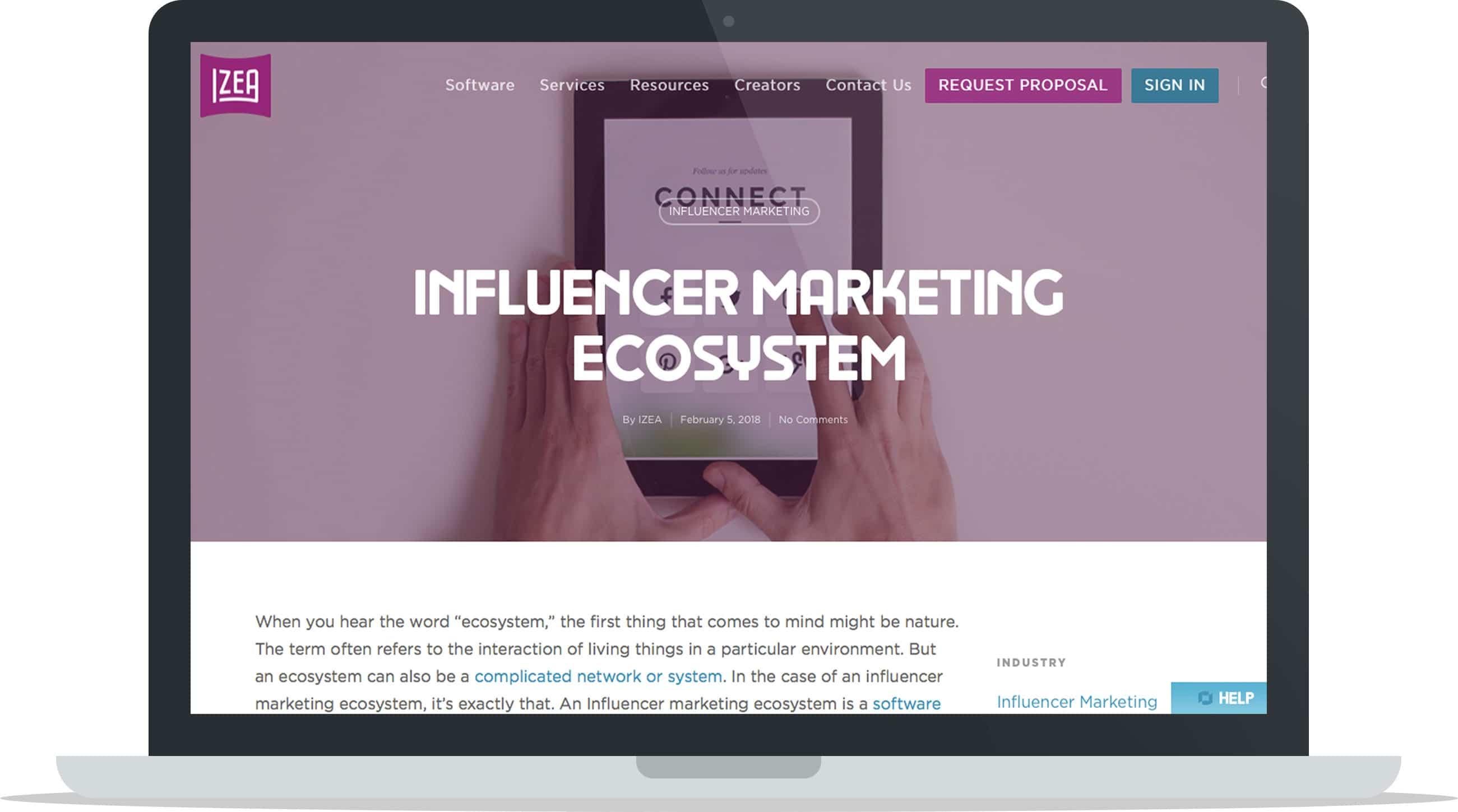 Instagram Influencer Marketing Ecosystem