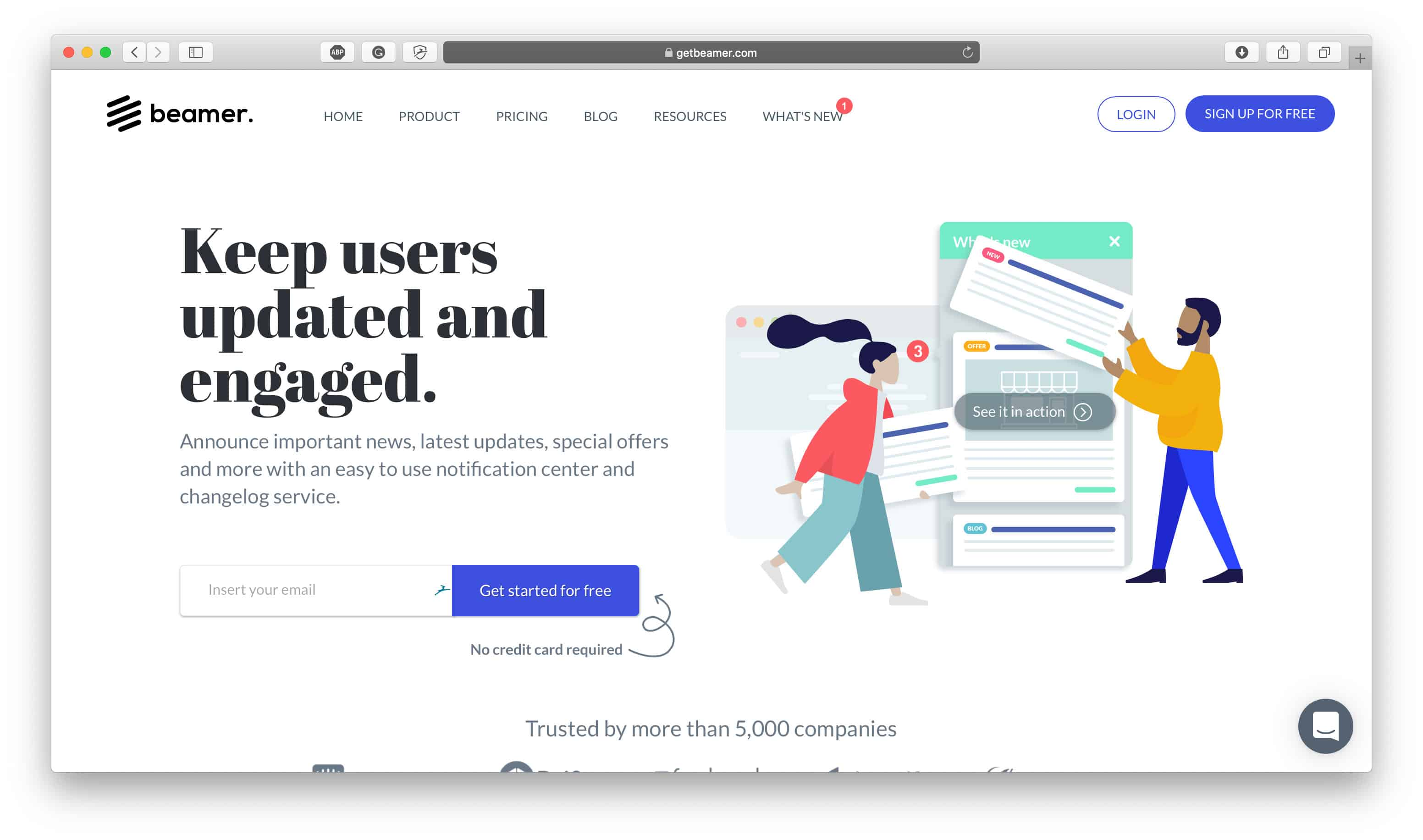 Beamer Homepage
